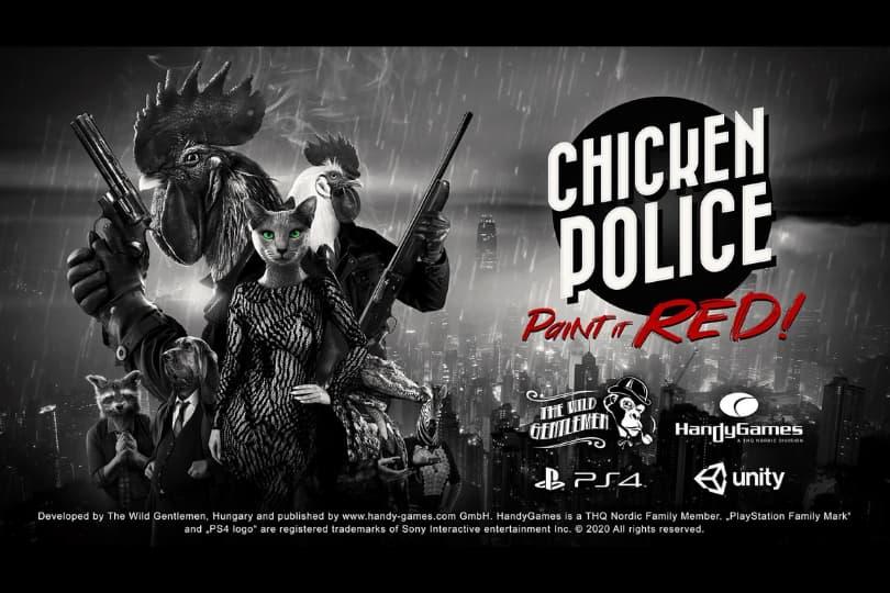 『Chicken Police(チキンポリス)』レビュー
